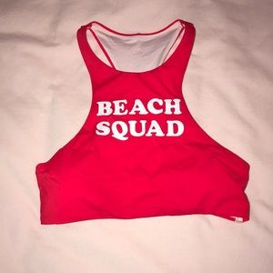 Beach squad VS PINK bathing suit top